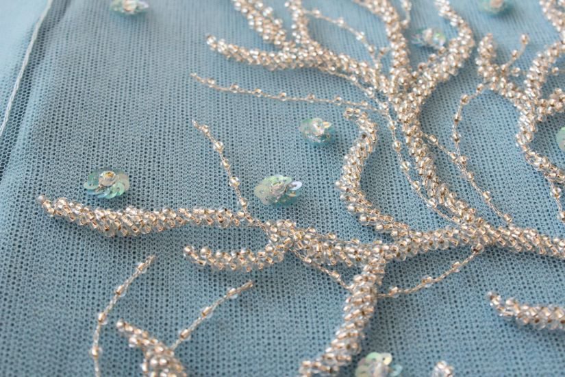 Luneville embroidery by Julia
