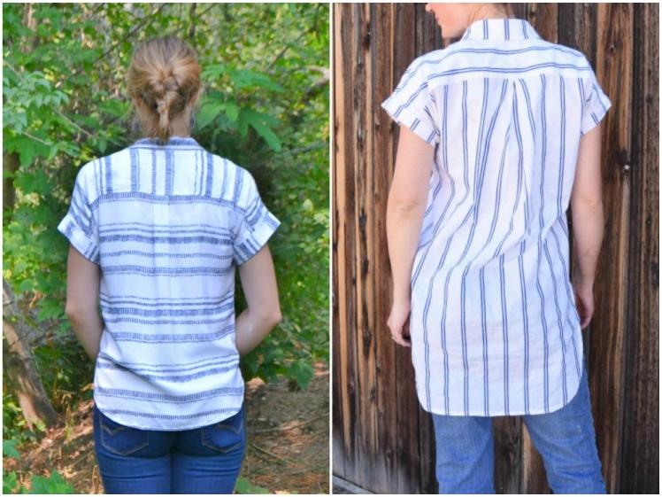 vertical stripe pattern