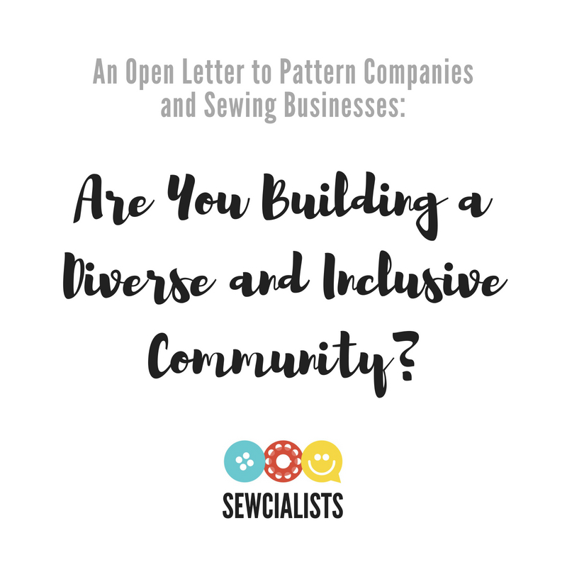 An Open Letter to Pattern Companies and Sewing Retailers: Are You ...